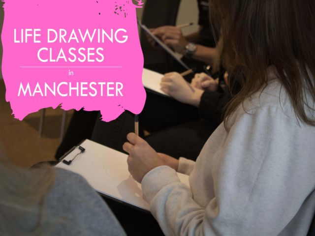 Life Art Drawing Classes in Manchester