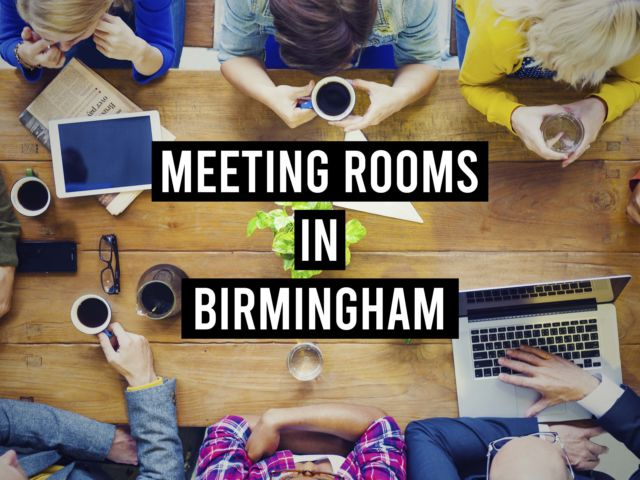 Meeting Rooms in Birmingham