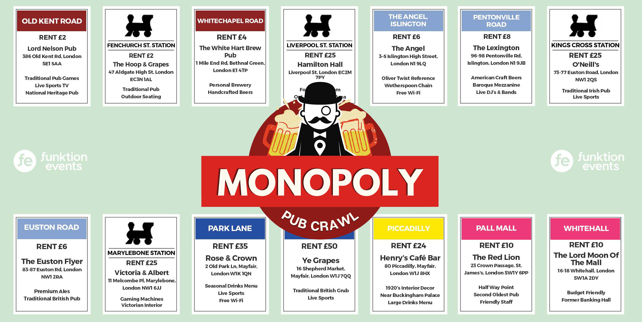 Monopoly Pub Crawl Article