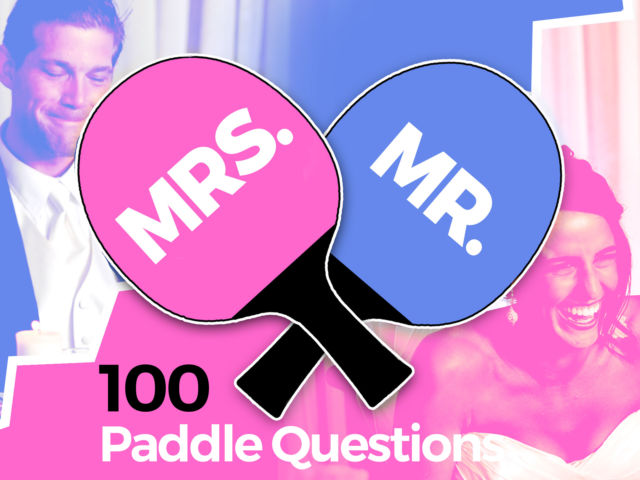 Mr & Mrs Paddle Questions