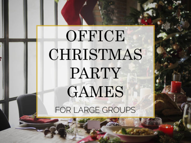 8 Office Christmas Party Games for Large Groups