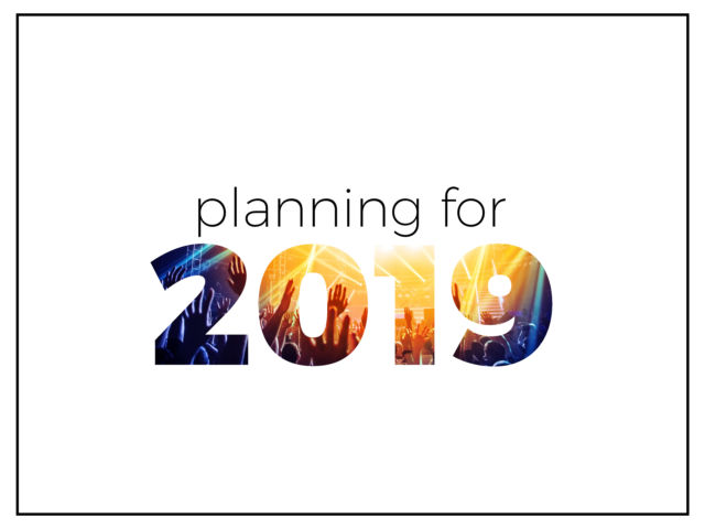 Planning for 2019
