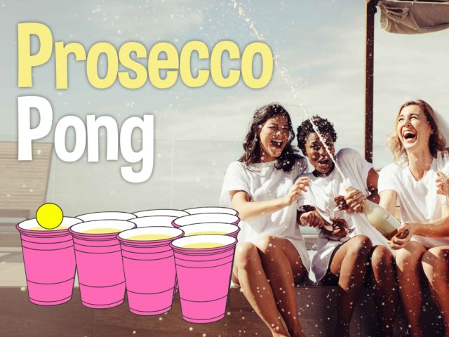 Prosecco Pong Hen Party Game