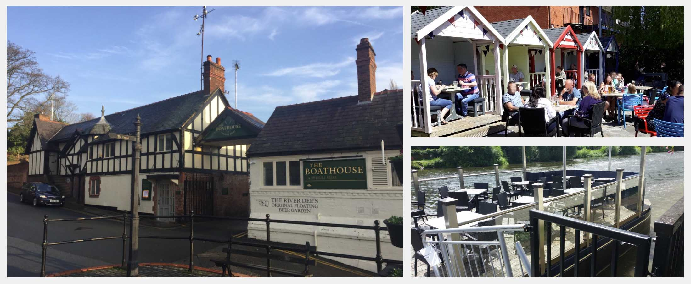 Best Beer Gardens in Chester - The Boathouse