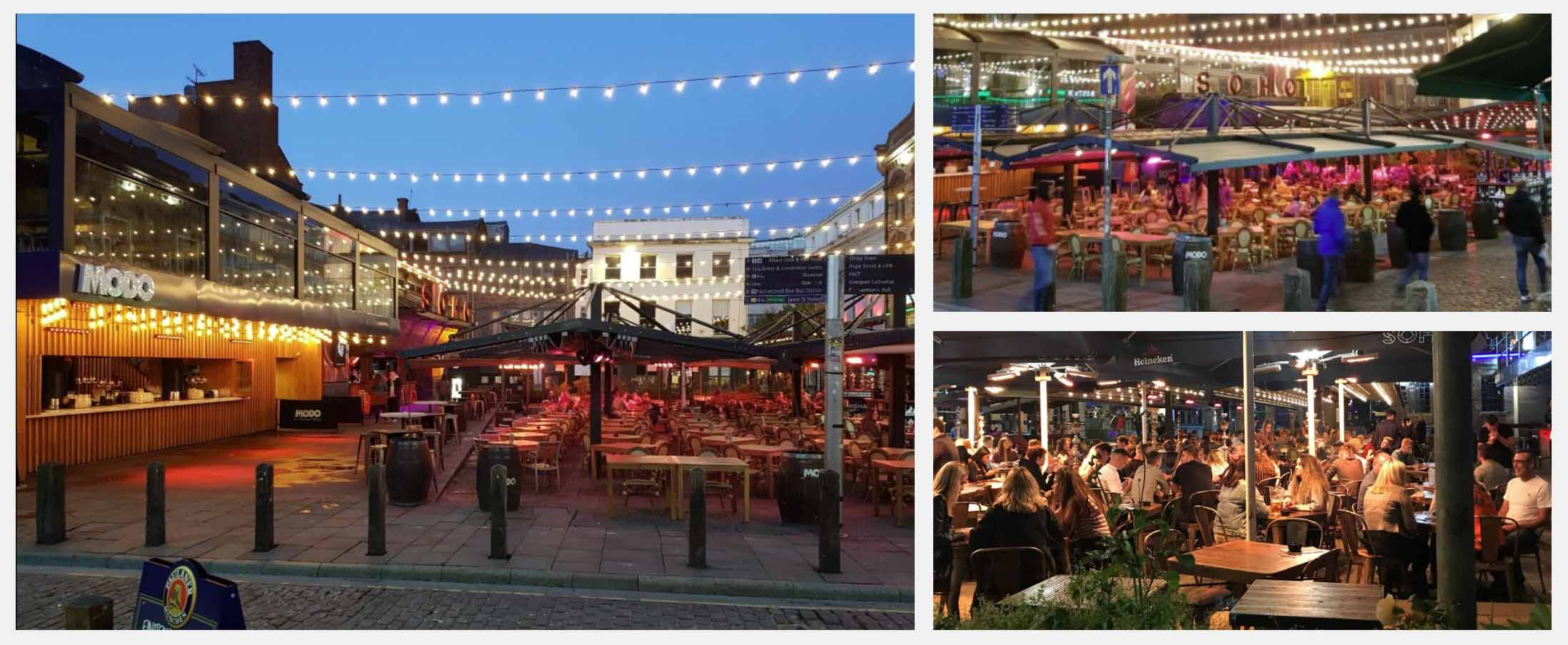 Best Beer Gardens in Liverpool - Concert Square