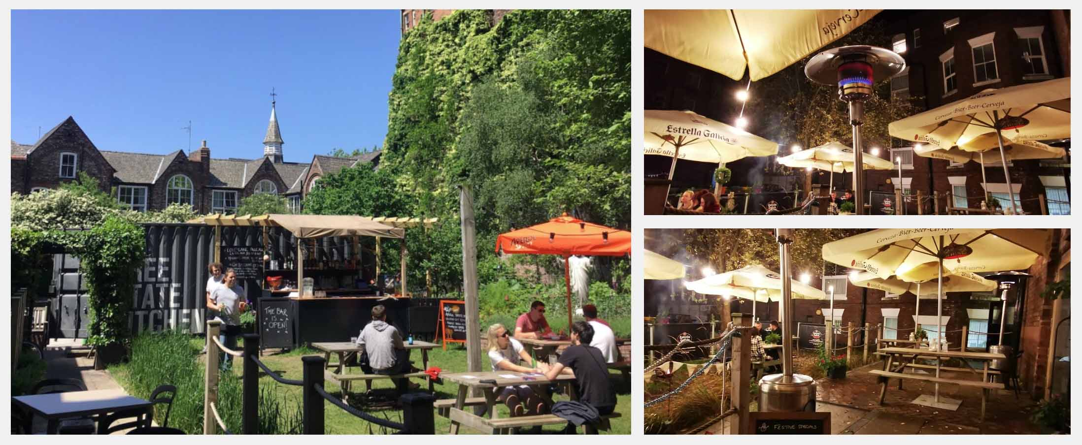 Best Beer Gardens in Liverpool - Free State Kitchen