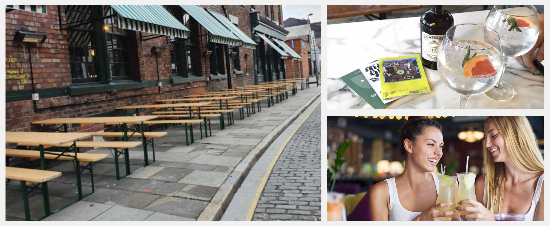 Best Beer Gardens in Liverpool - The Merchant