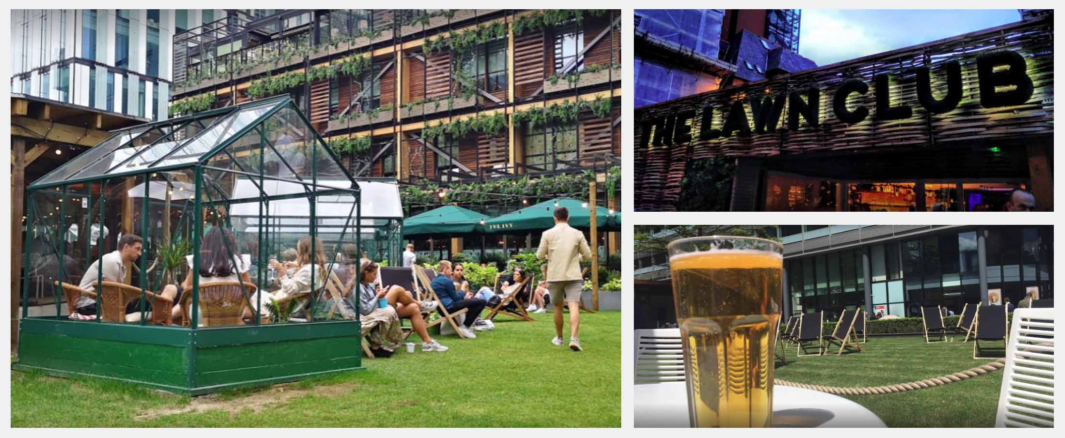 Best Beer Gardens in Manchester - The Lawn Club