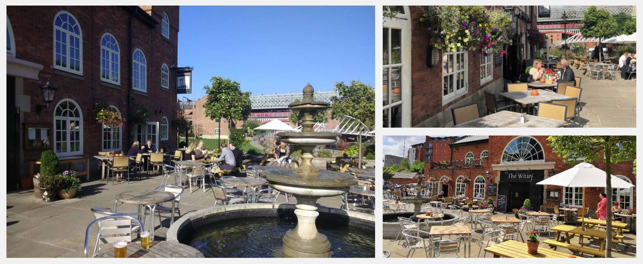 Best Beer Gardens in Manchester - The Wharf