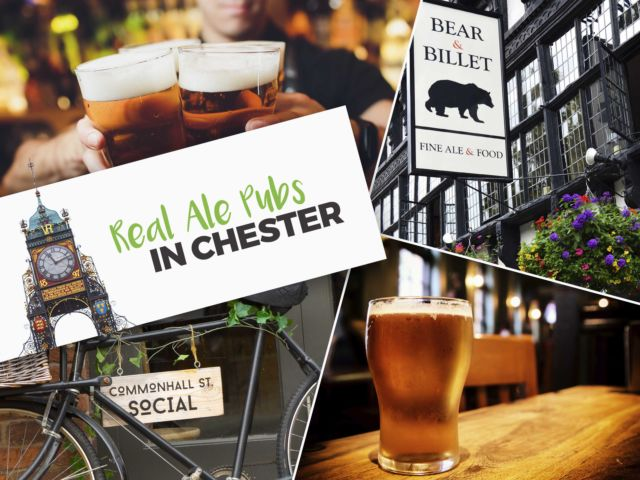 Real Ale Pubs in Chester