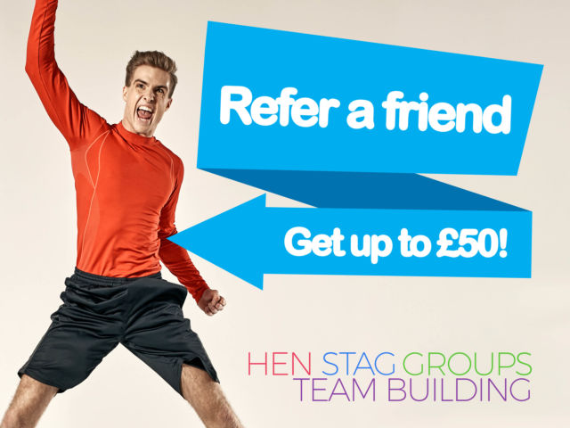 Refer a Friend | Up to £50 Cashback