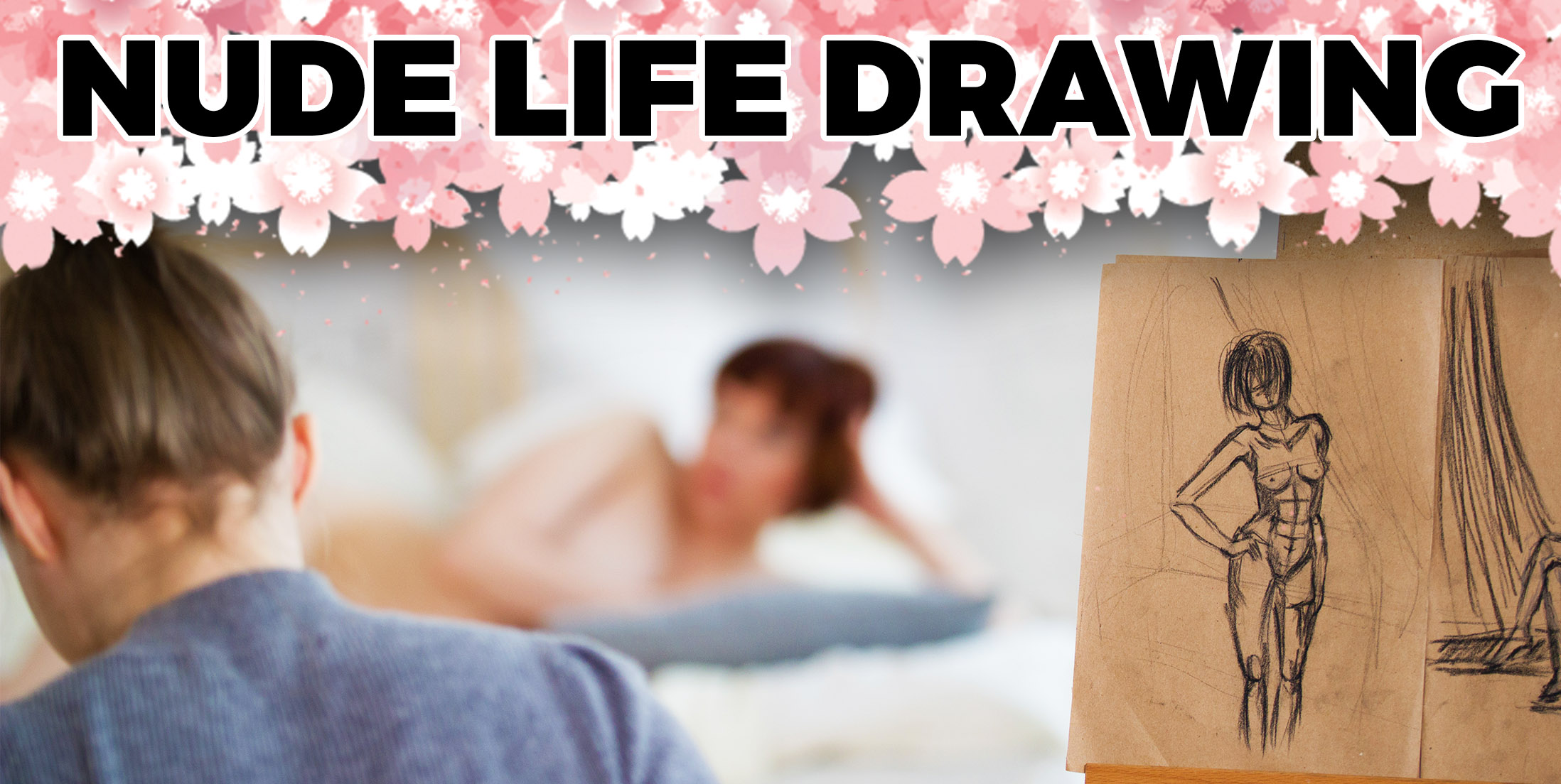 Relaxing 30th Birthday - Nude Life Drawing
