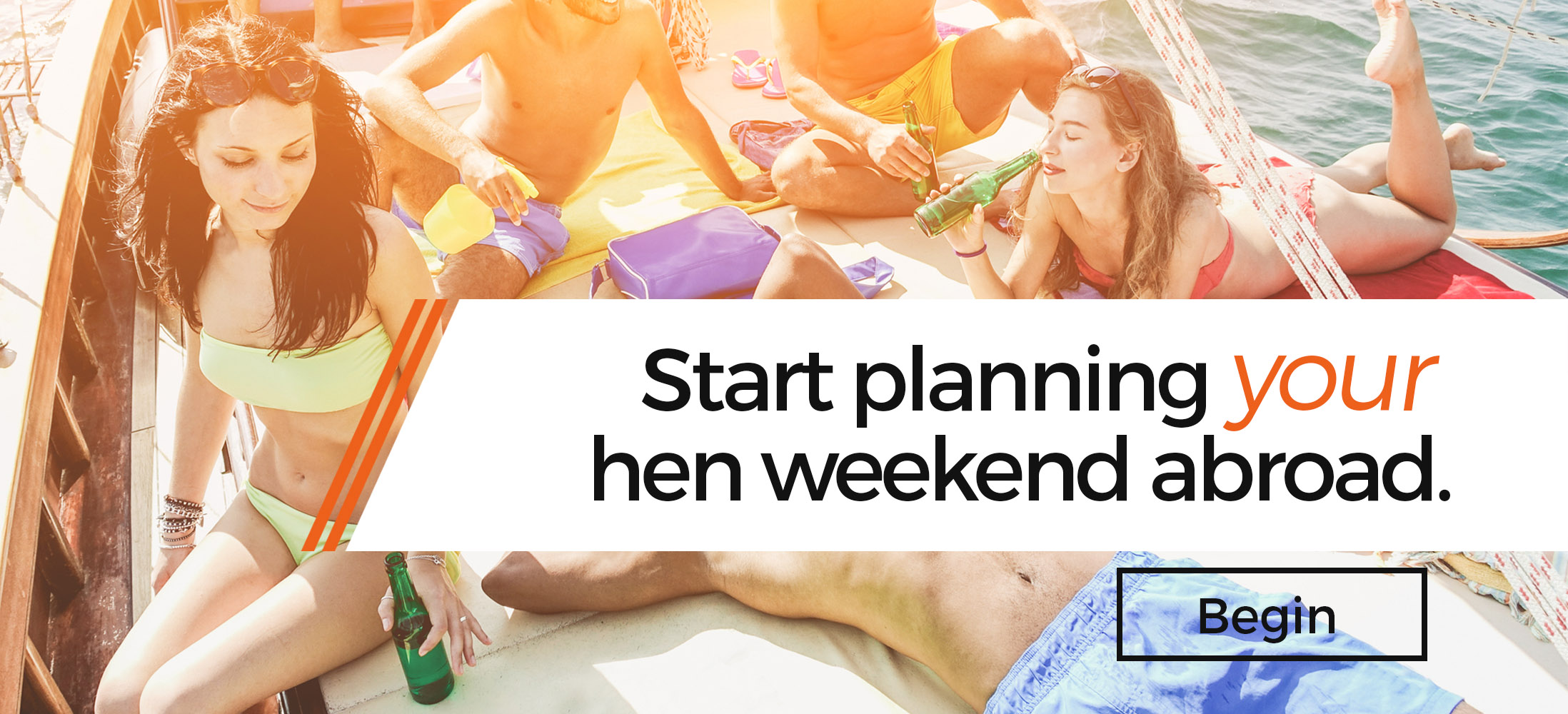 Start Planning Your Hen Weekend Abroad here