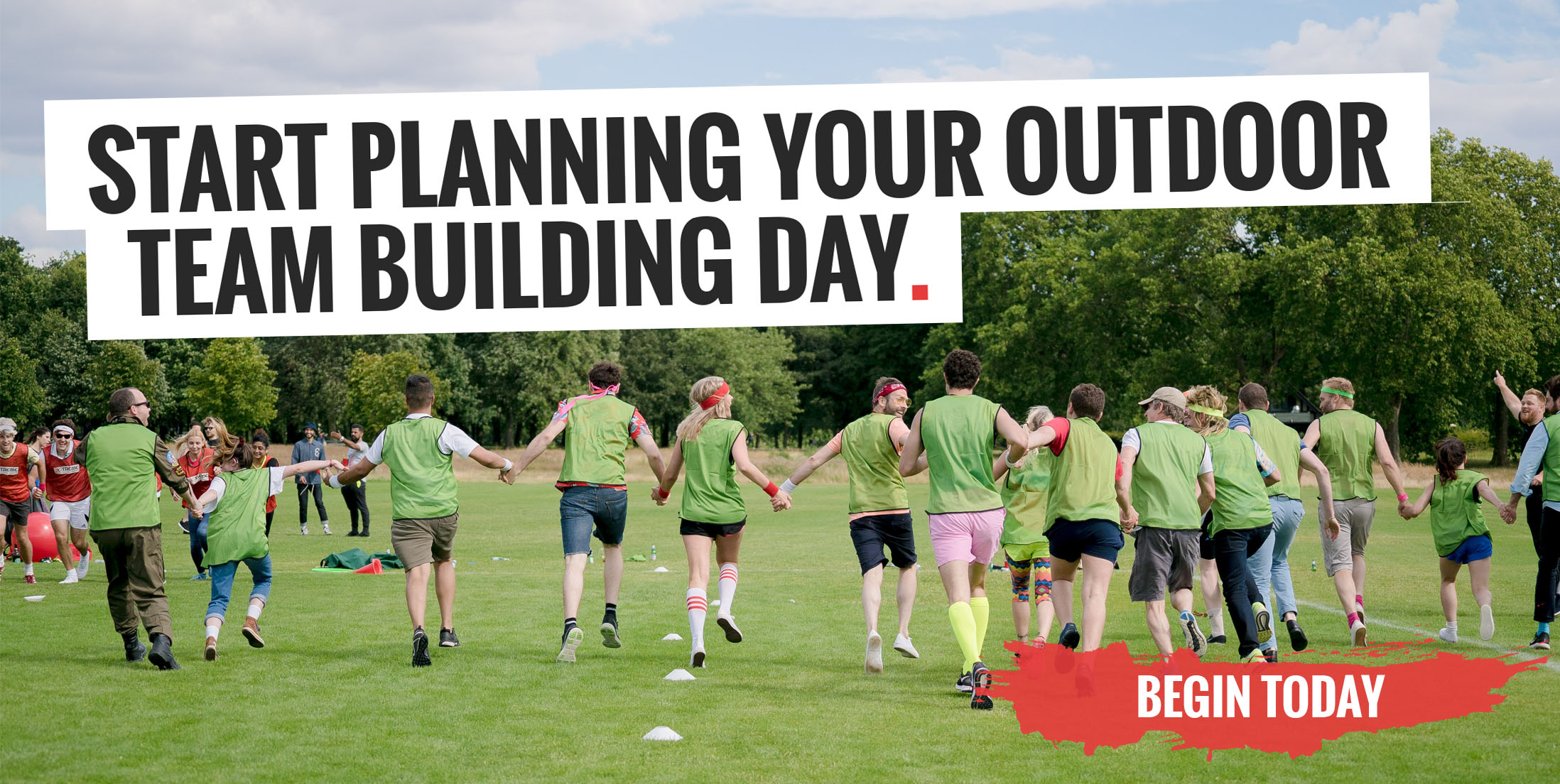 Start Planning Your Outdoor Team Building Day
