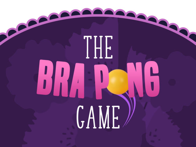 Bra Pong Hen Party Game
