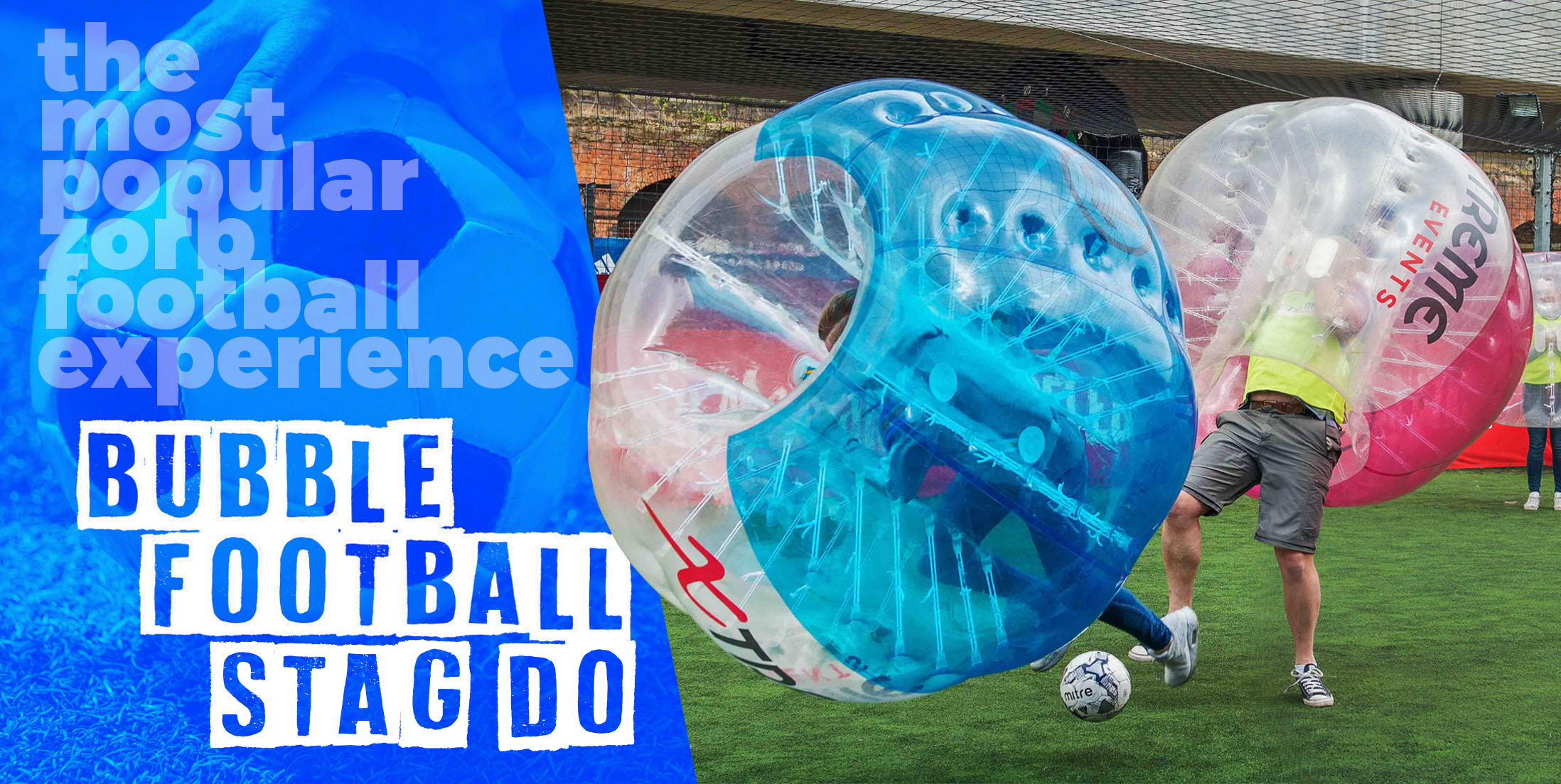 Why Choose a Bubble Football Stag Party