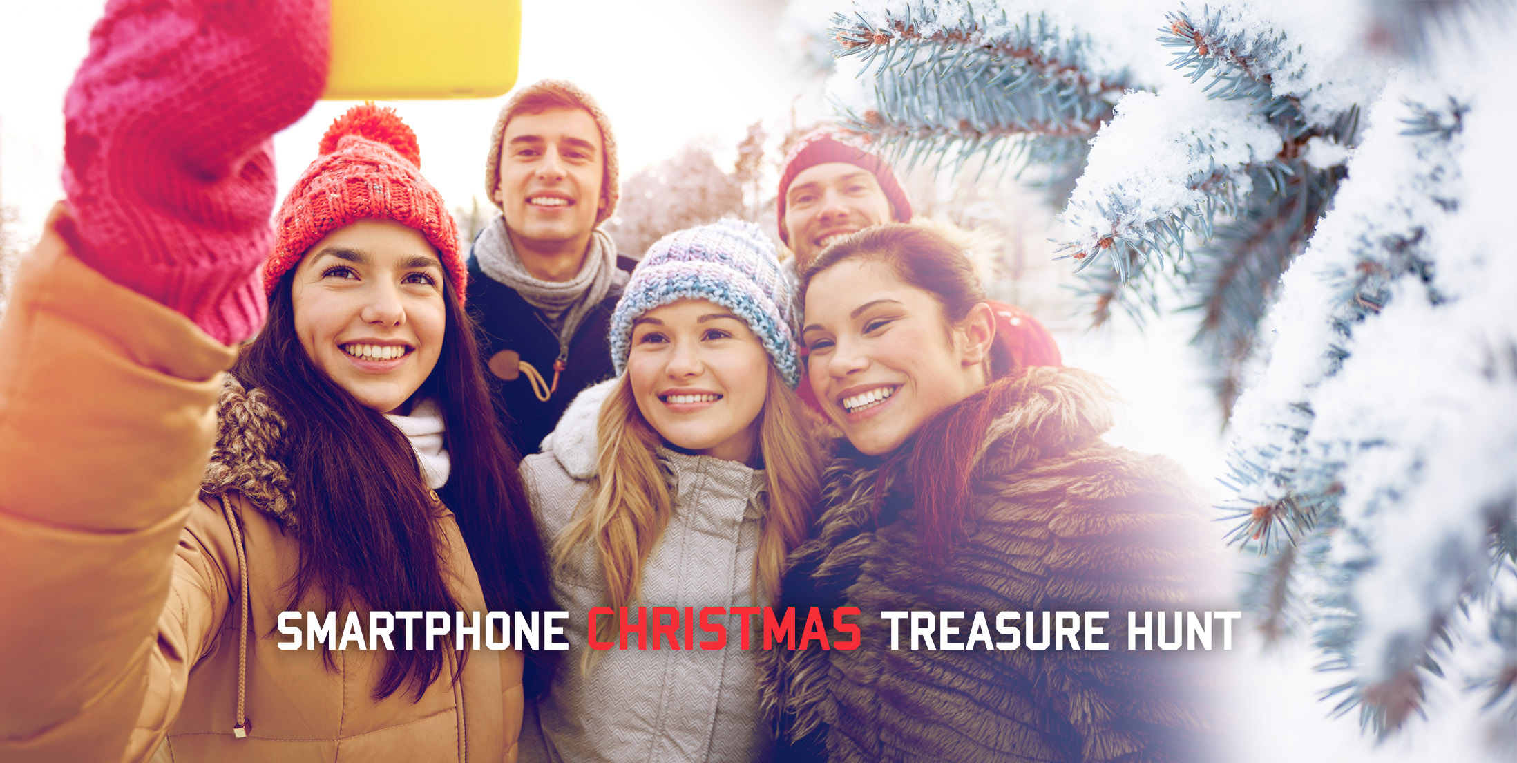 The Smartphone Xmas Treasure Hunt Team Building Activity Is Here