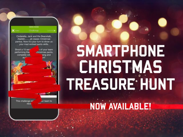 The Smartphone XMAS Treasure Hunt Team Building Activity is Here!