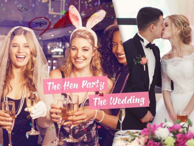 The Time Between the Hen Party & The Wedding