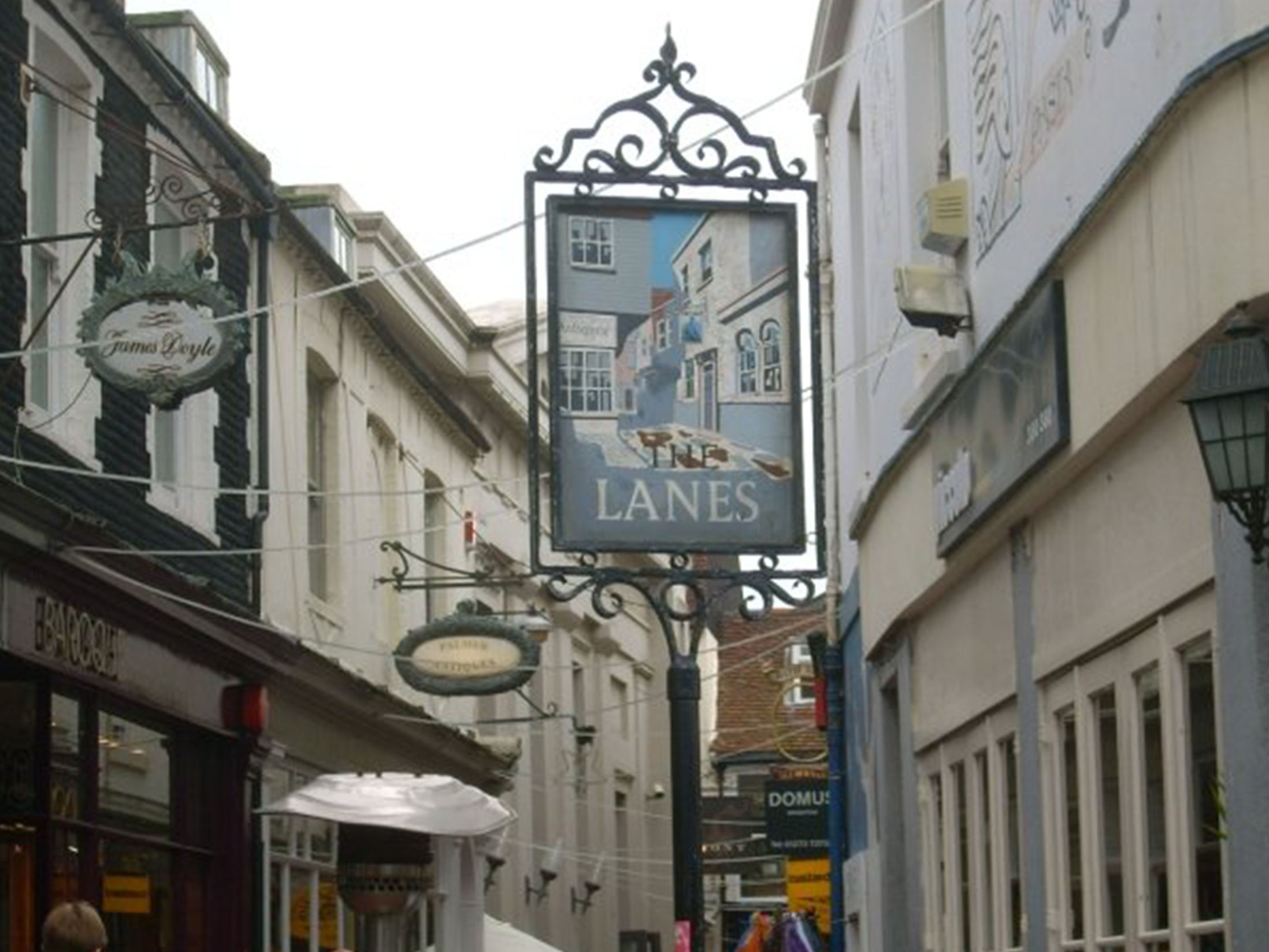 Things To Do in Brighton - The Lanes