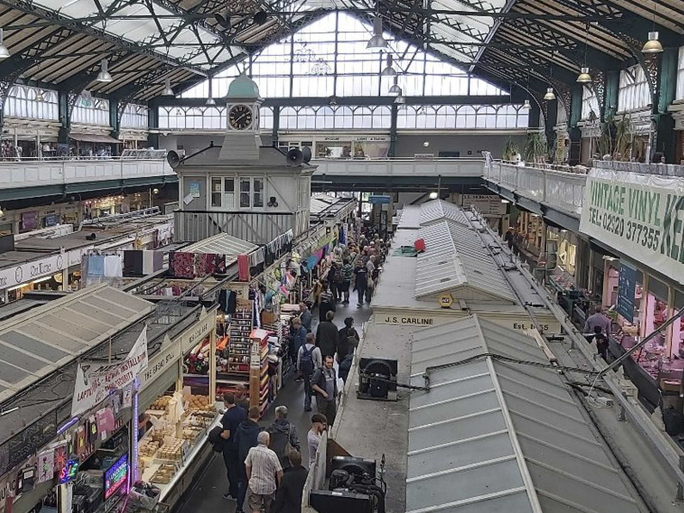 Things to do in Cardiff - Cardiff Central Market