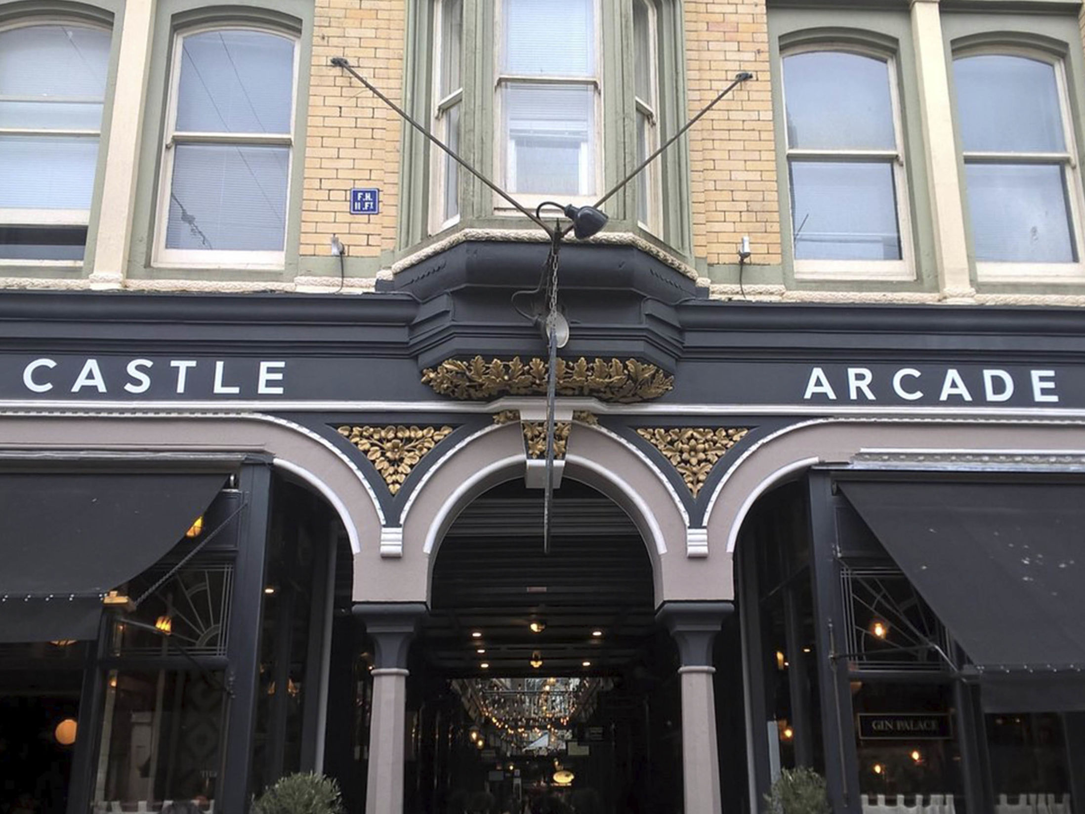 Things to do in Cardiff - Castle Arcade, The Castle Quarter