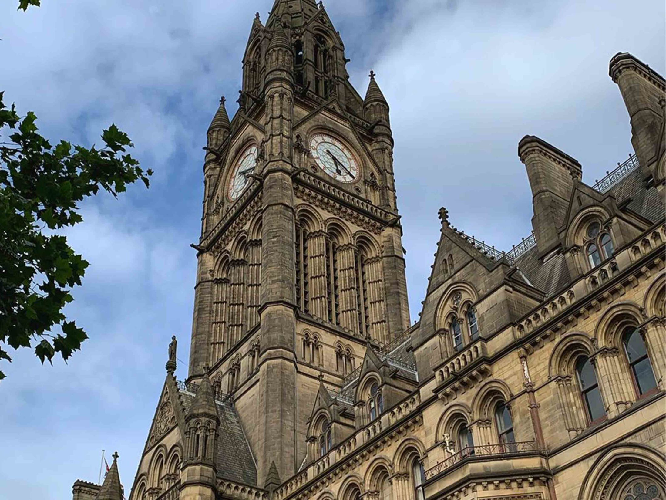 Things to Do in Manchester - Town Hall