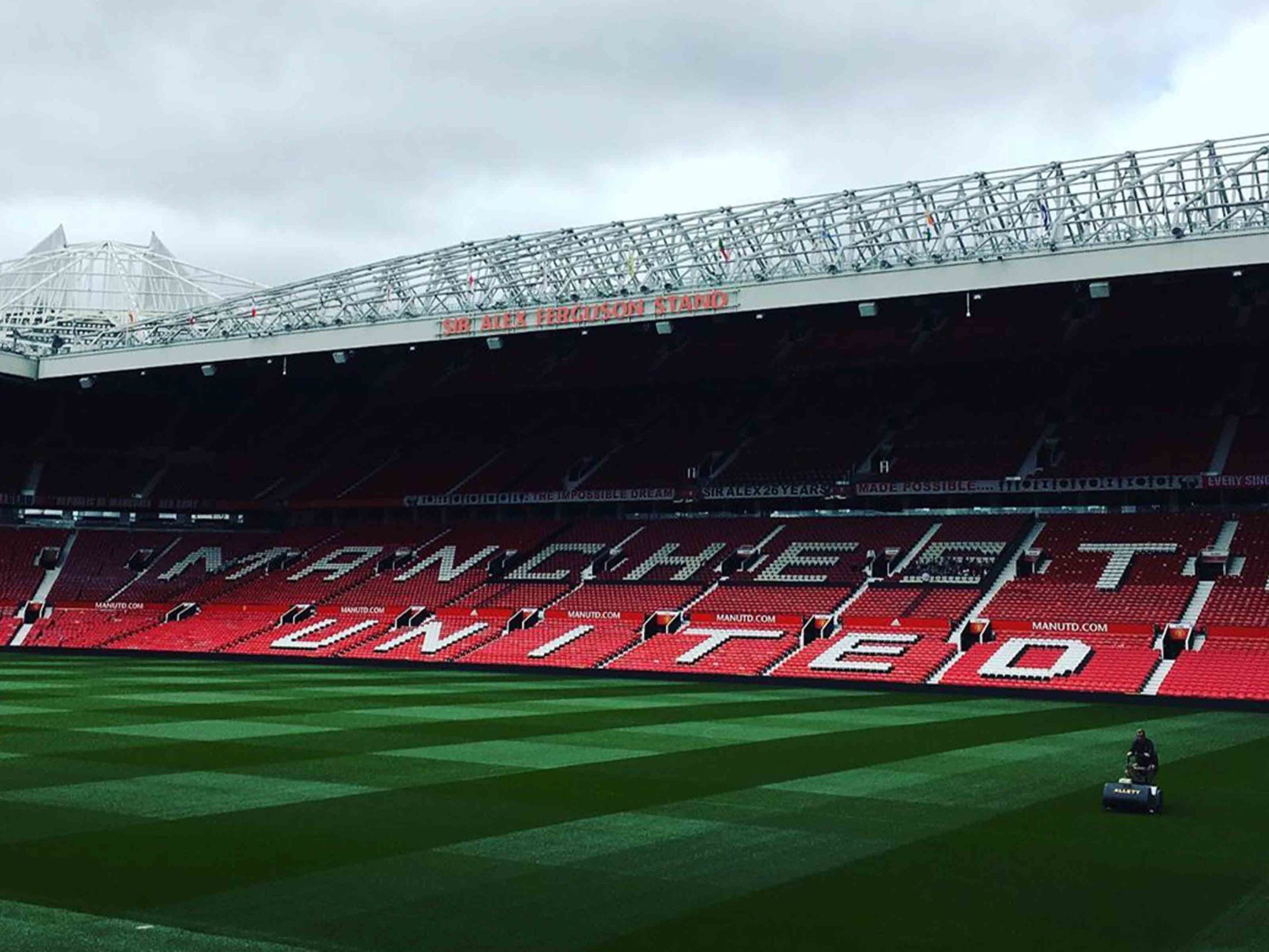 Things to Do in Manchester - United Stadium