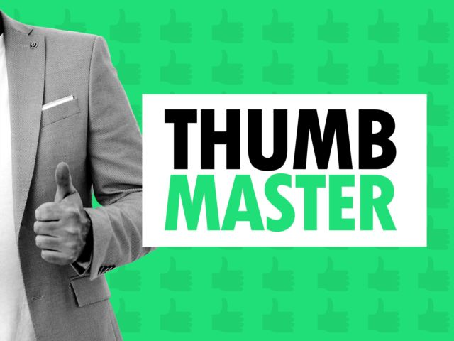 Thumb Master Drinking Game