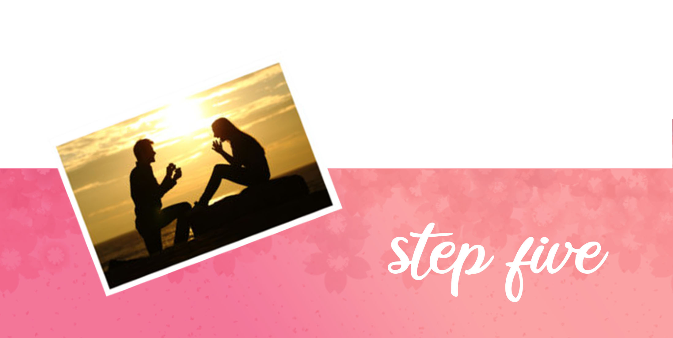 Top Tips for the Newly Engaged - Step 5