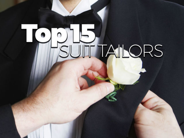 Top 15 Suit Tailors for a Wedding