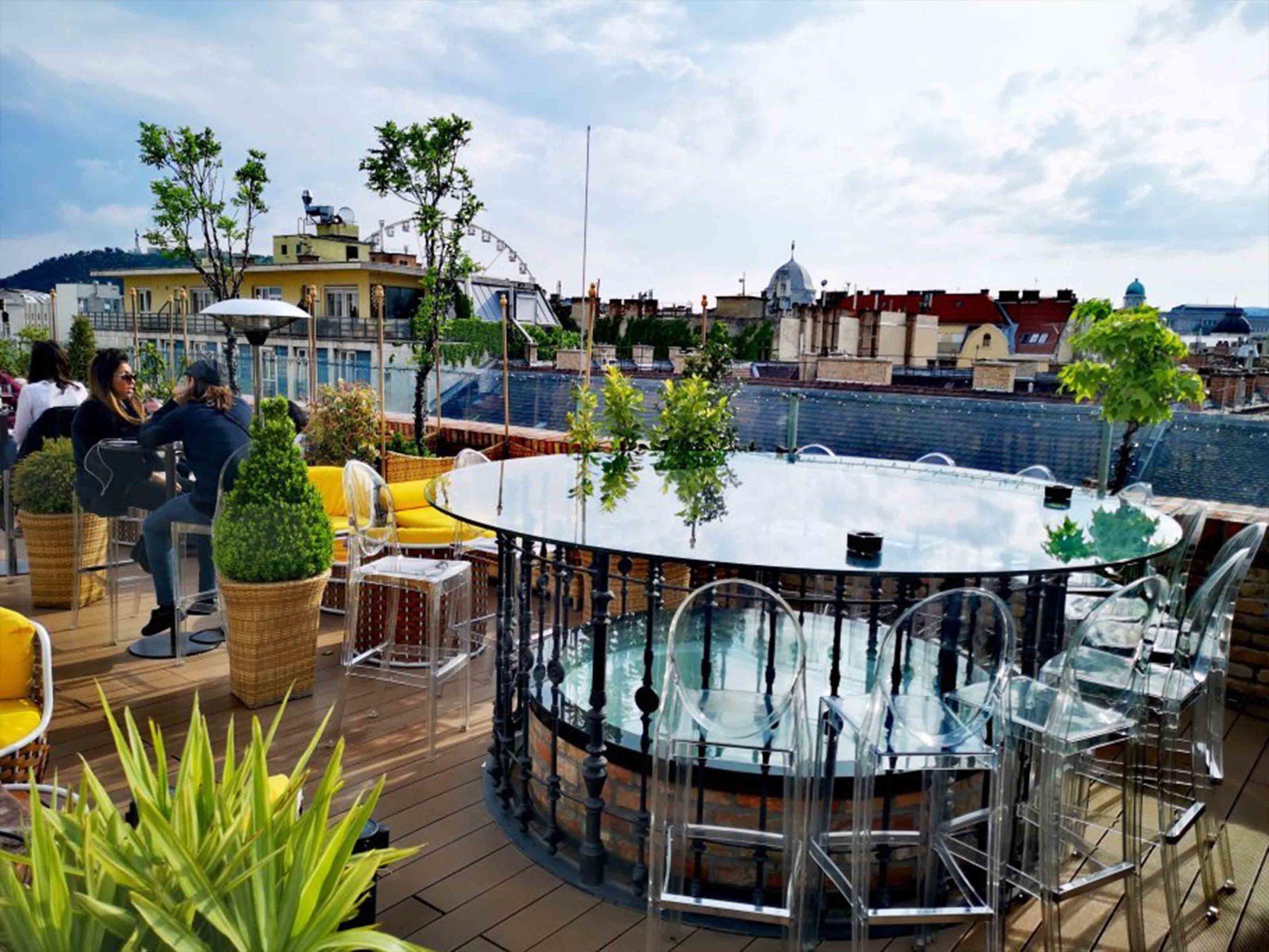 Best Bars in Budapest - High Note SkyBar