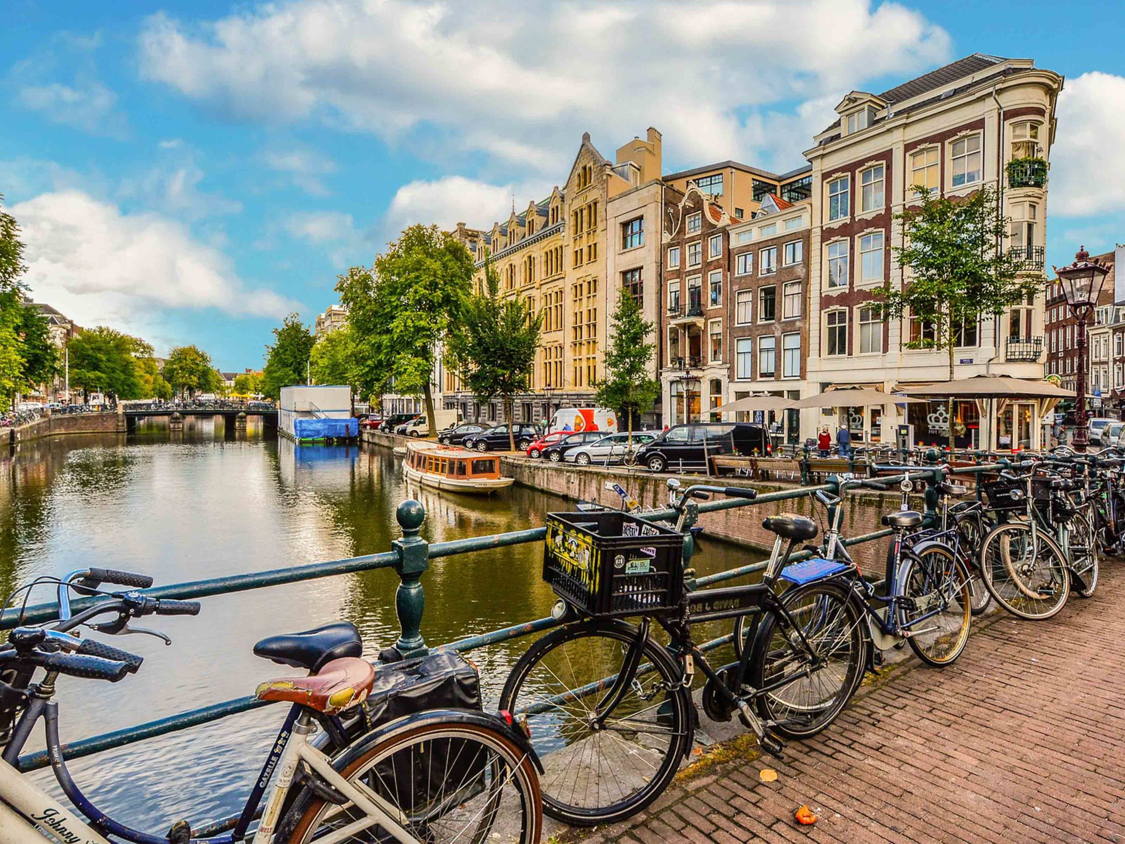 Top Attractions in Amsterdam - Bike Tour