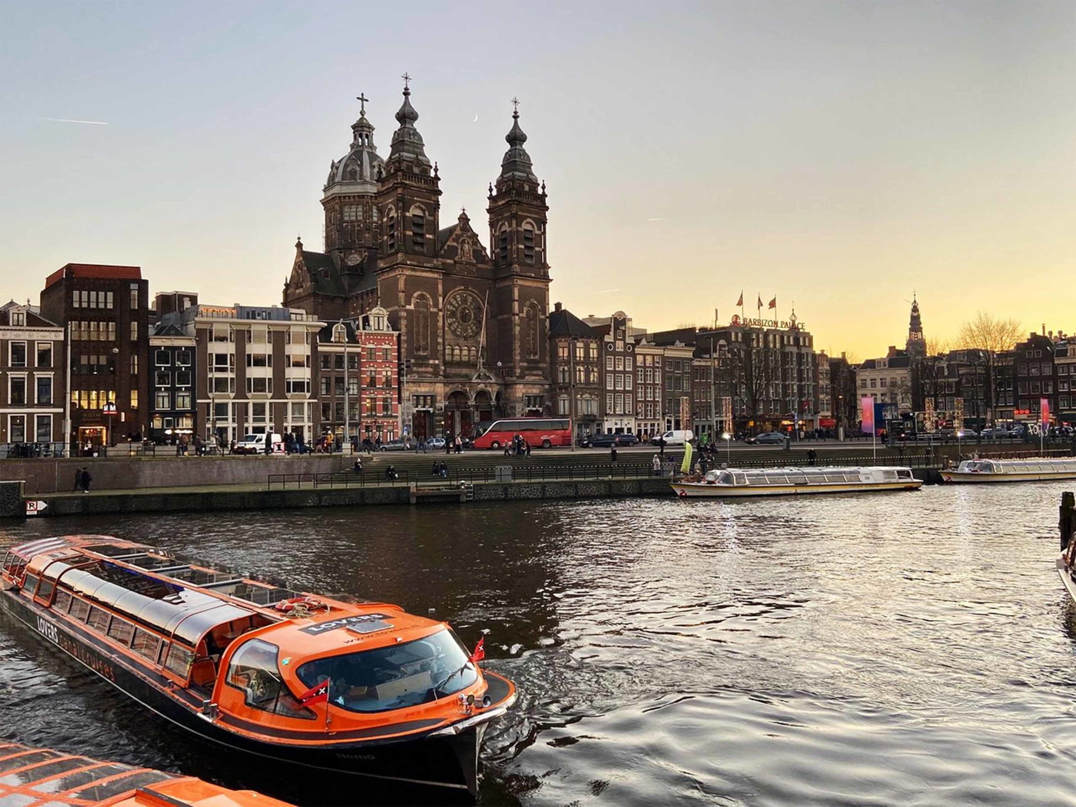 Top Attractions in Amsterdam - Canal Tour
