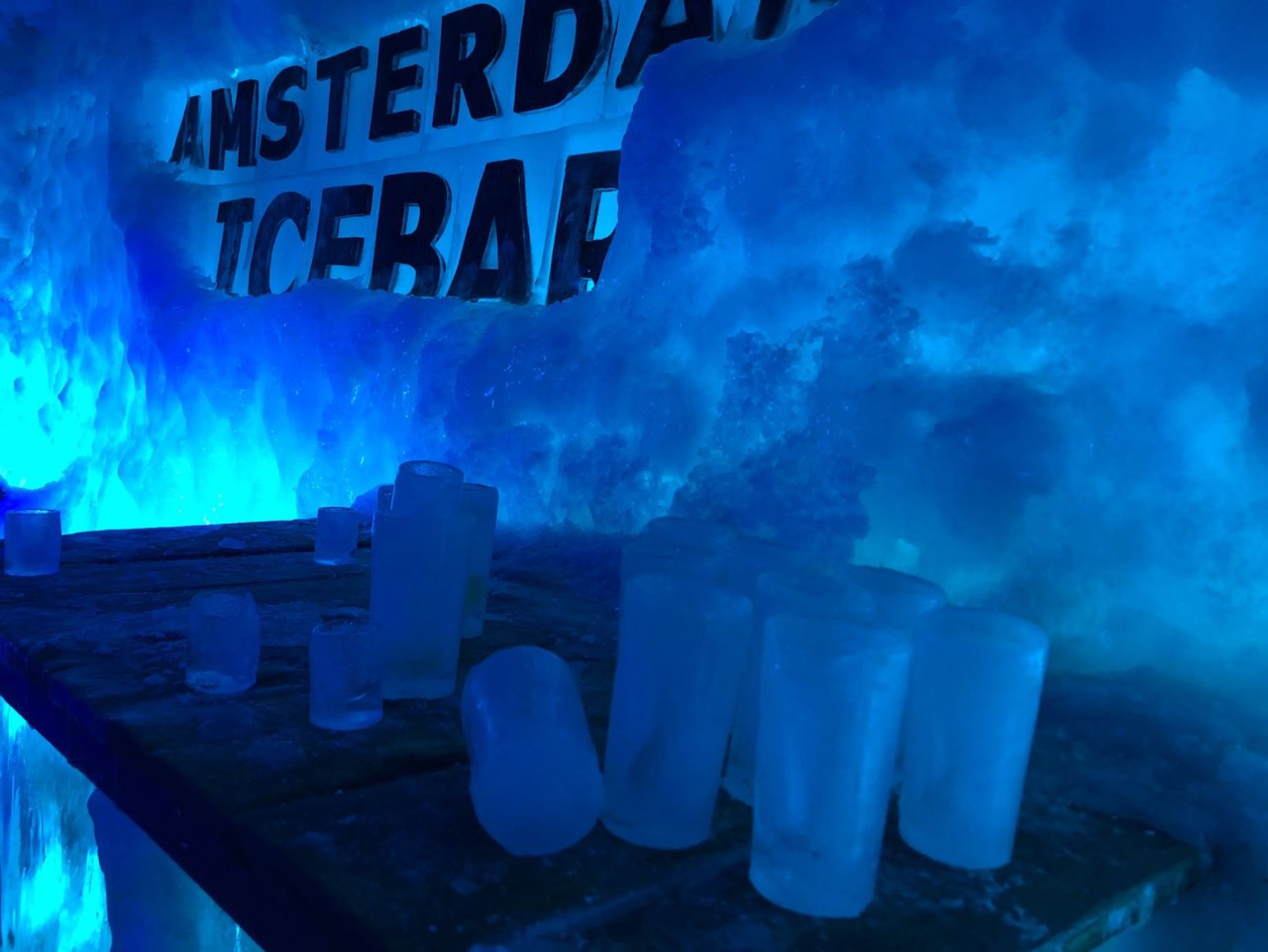 Top Attractions in Amsterdam - Ice Bar