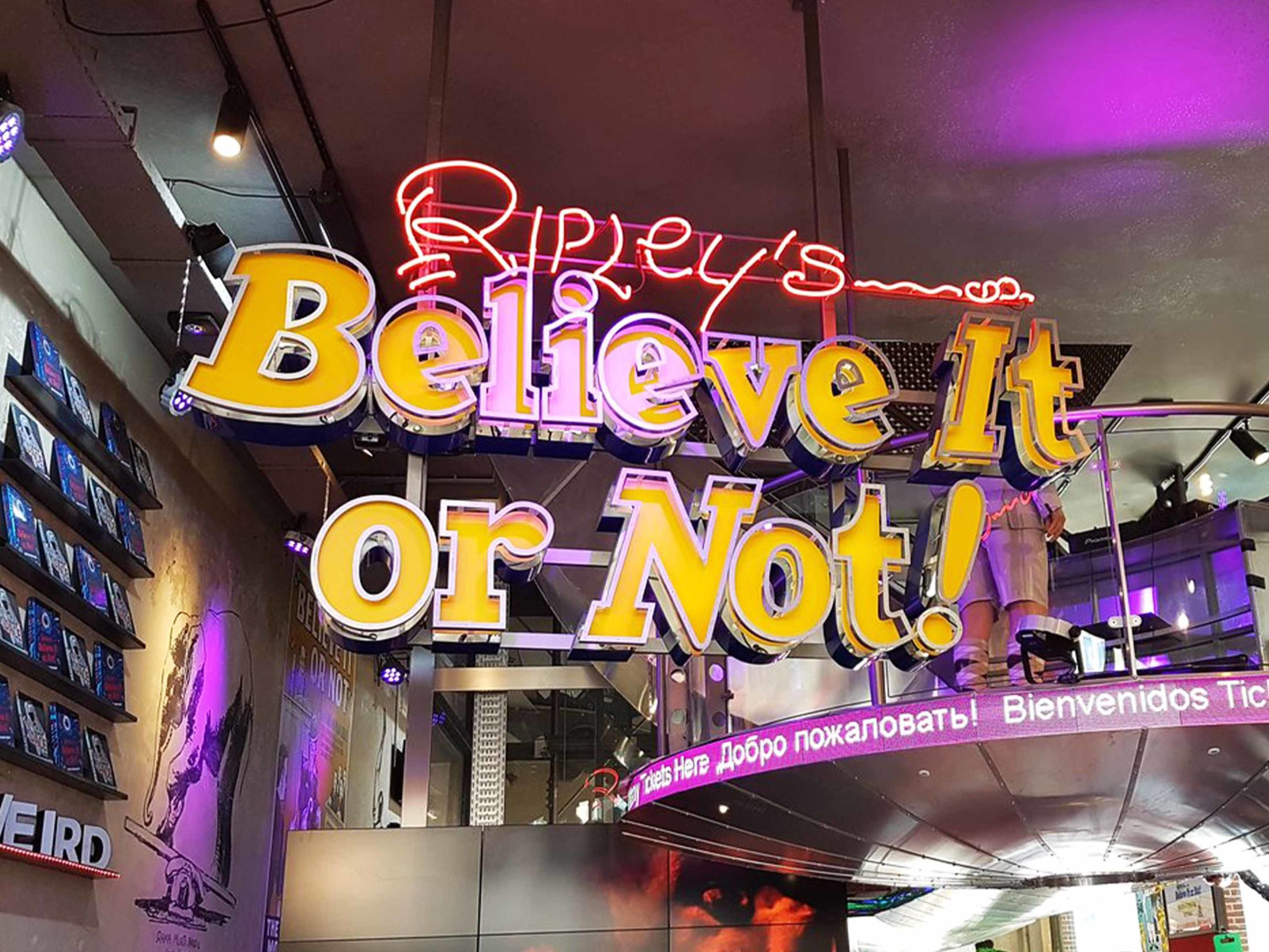 Top Attractions in Amsterdam - Ripley's Believe It or Not