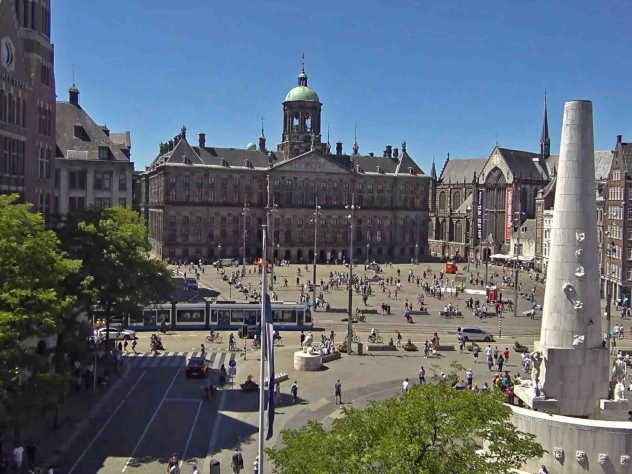Top Attractions in Amsterdam - Royal Palace