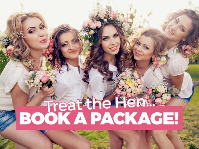Treat The Hen & Book a Package!