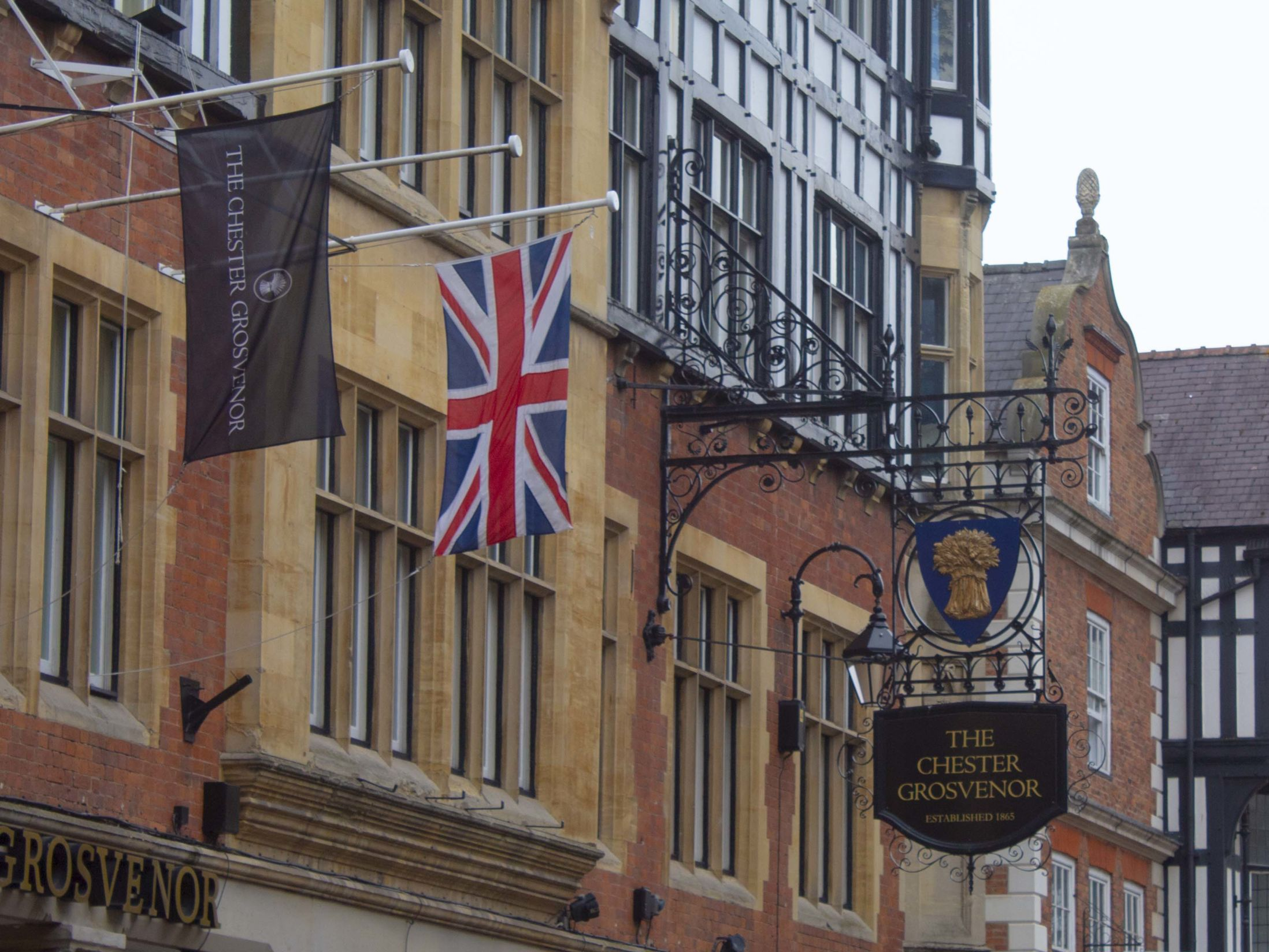 Venues in Chester for Away Days - Grosvenor Hotel