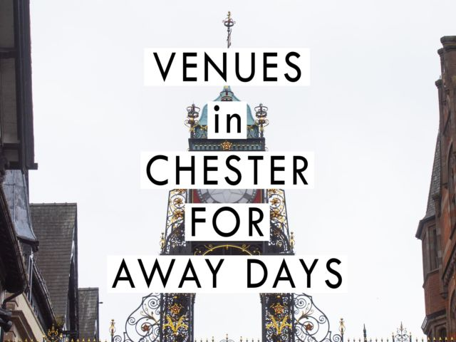 Venues in Chester for Away Days