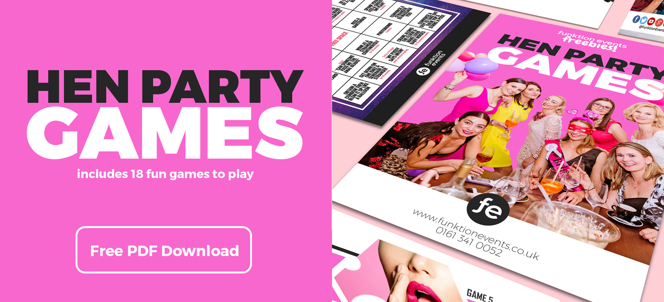 What About a Weekend in London - Hen Party Games