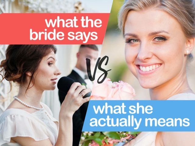 What She Says Vs. What She Means