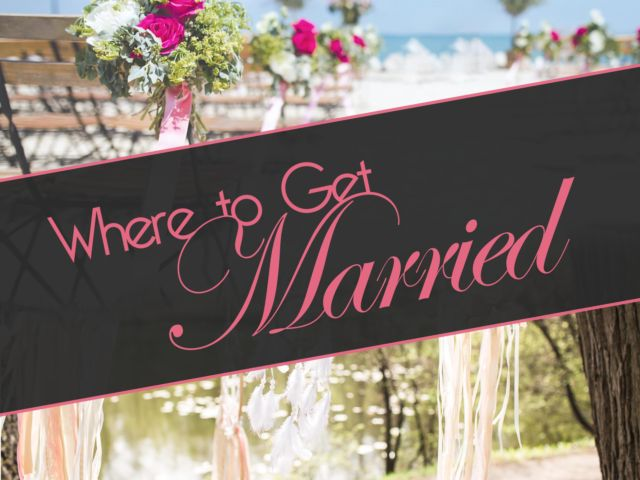 Where to Get Married