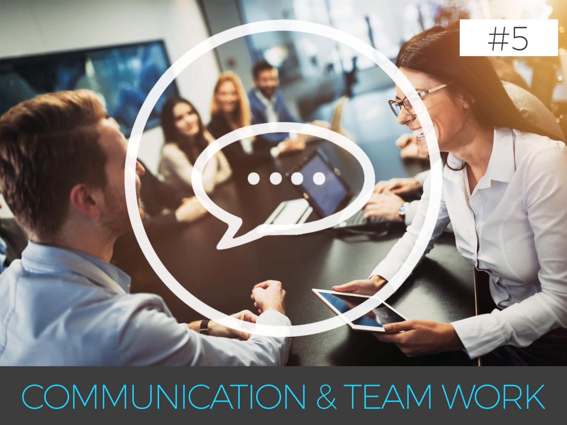 Why is Team Building so Important - 5. Communication & Team Work