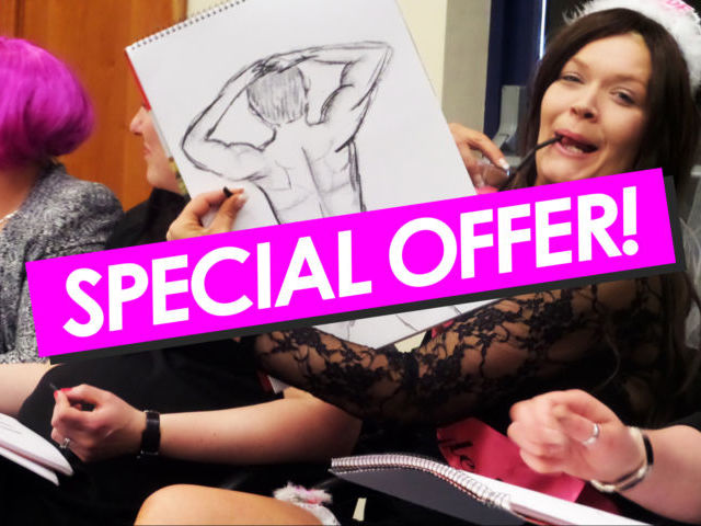 Special Offer - Life Drawing Hen Weekend