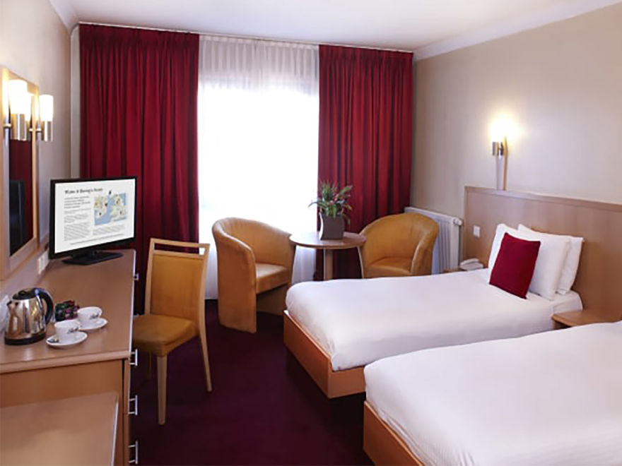 Clayton Hotel Twin Room