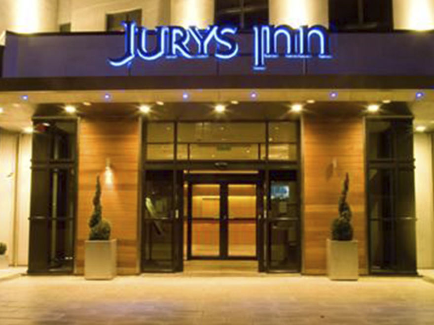 Jurys Inn - Nottingham entrance
