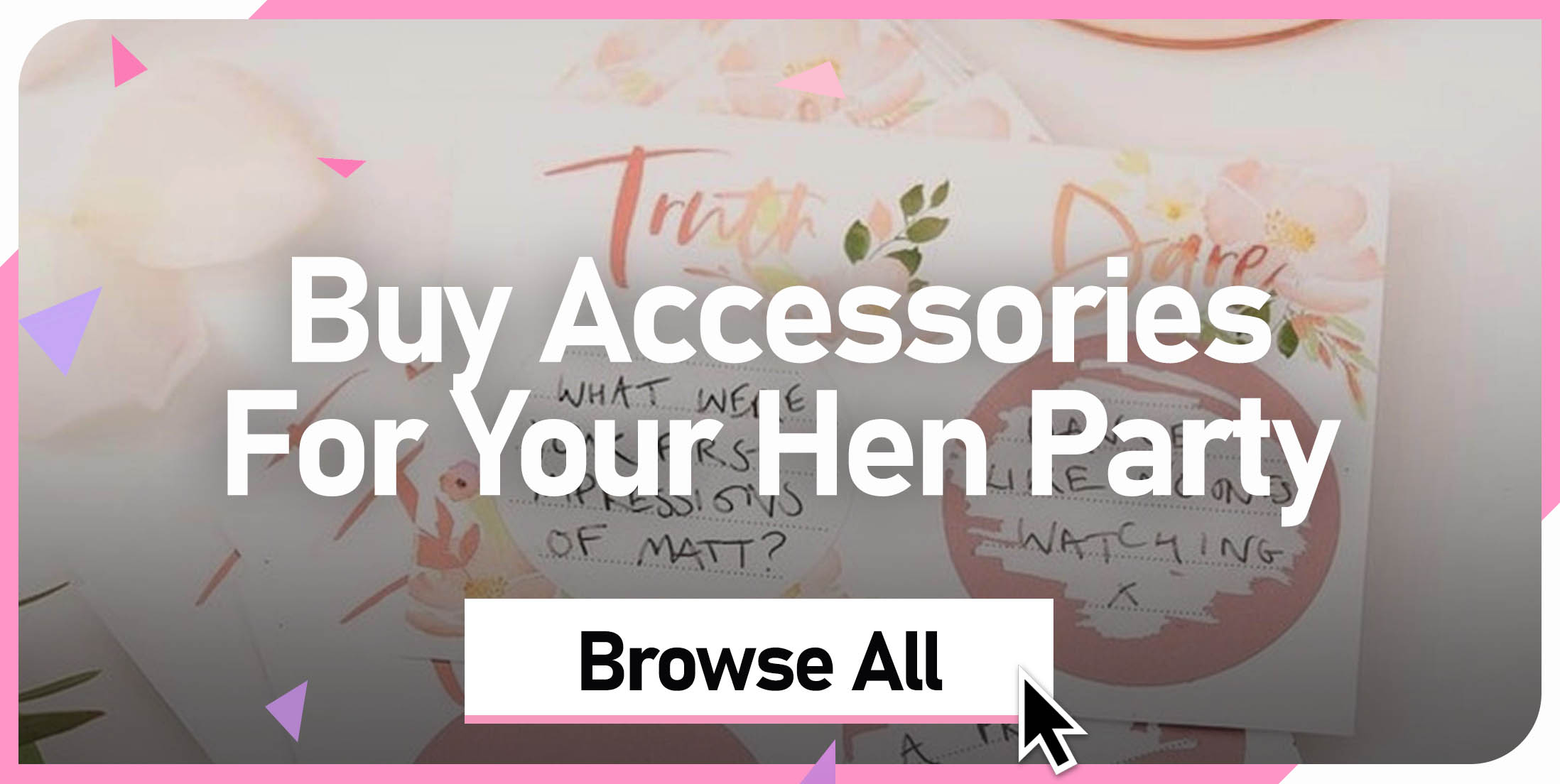Buy Your Hen Party Accessories