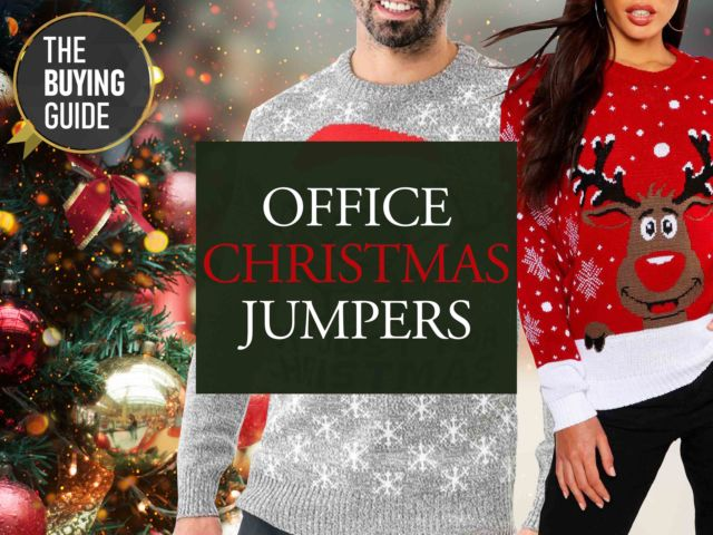Office Christmas Jumpers The Buying Guide