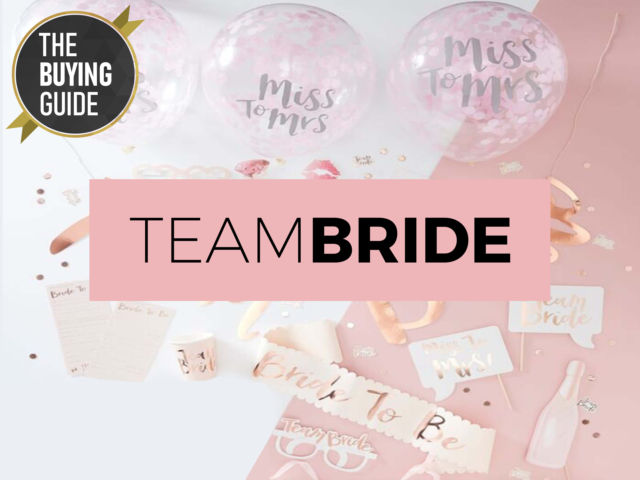 Team Bride Accessories - The Buying Guide
